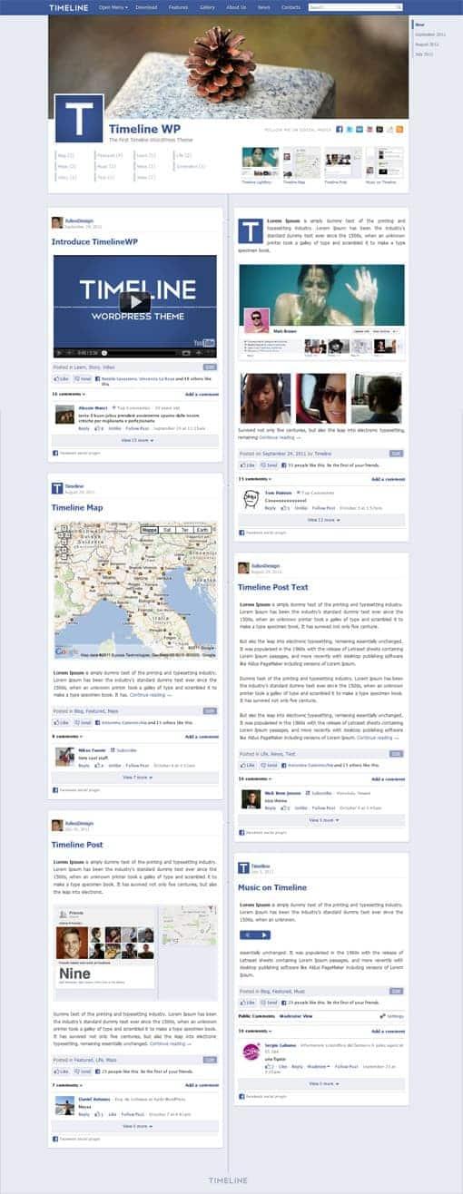 timeline-wordpress-theme-2011