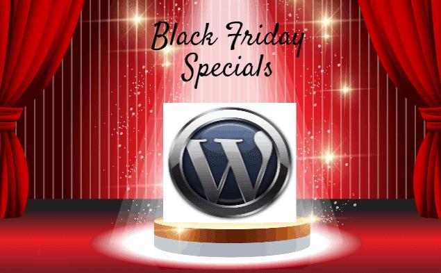 WordPress Black Friday Specials