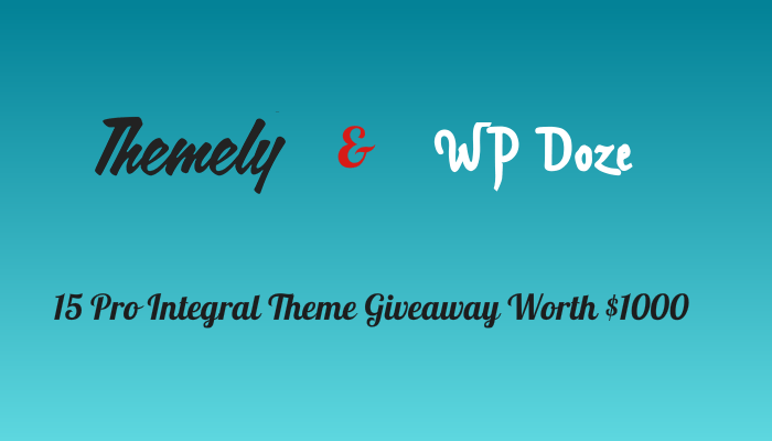 Themely Integral Theme Review and Giveaway