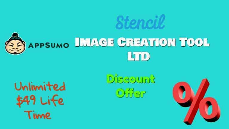 Stencil Image Creation Tool LTD Discount Offer