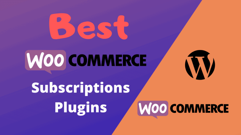 Best WooCommerce Subscriptions Plugins (Free & Paid)