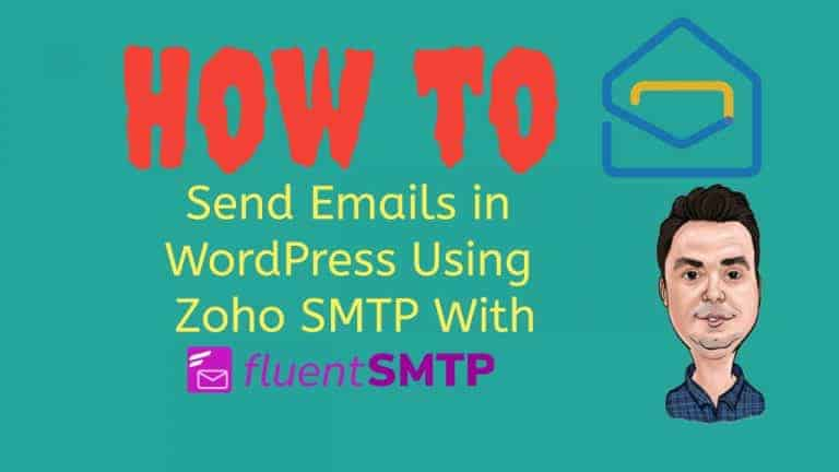 How to Send Emails in WordPress Using Zoho SMTP With FluentSMTP